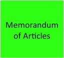 Memorandum of Articles
